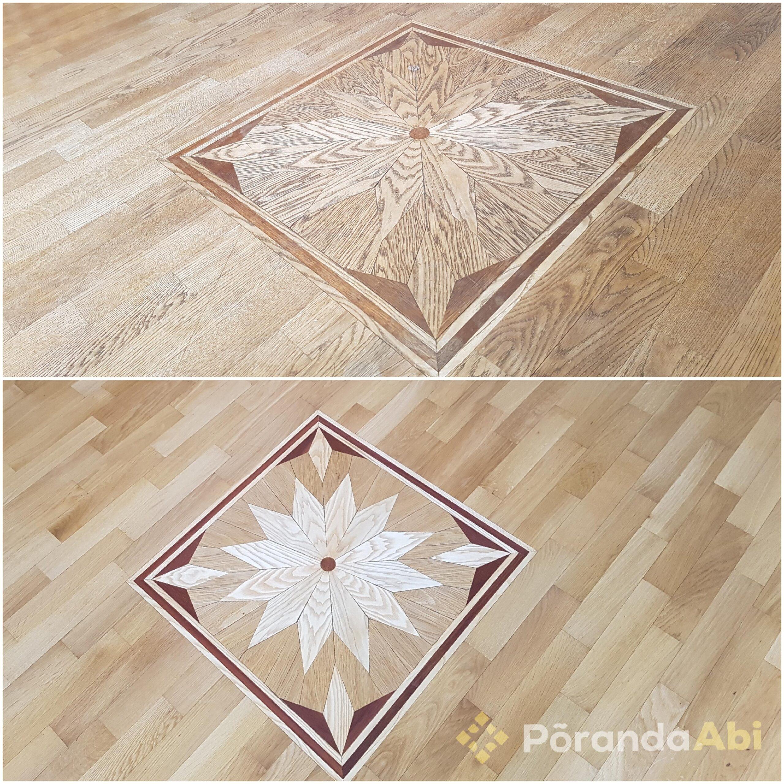 Põrandate lakkimine ja õlitamine