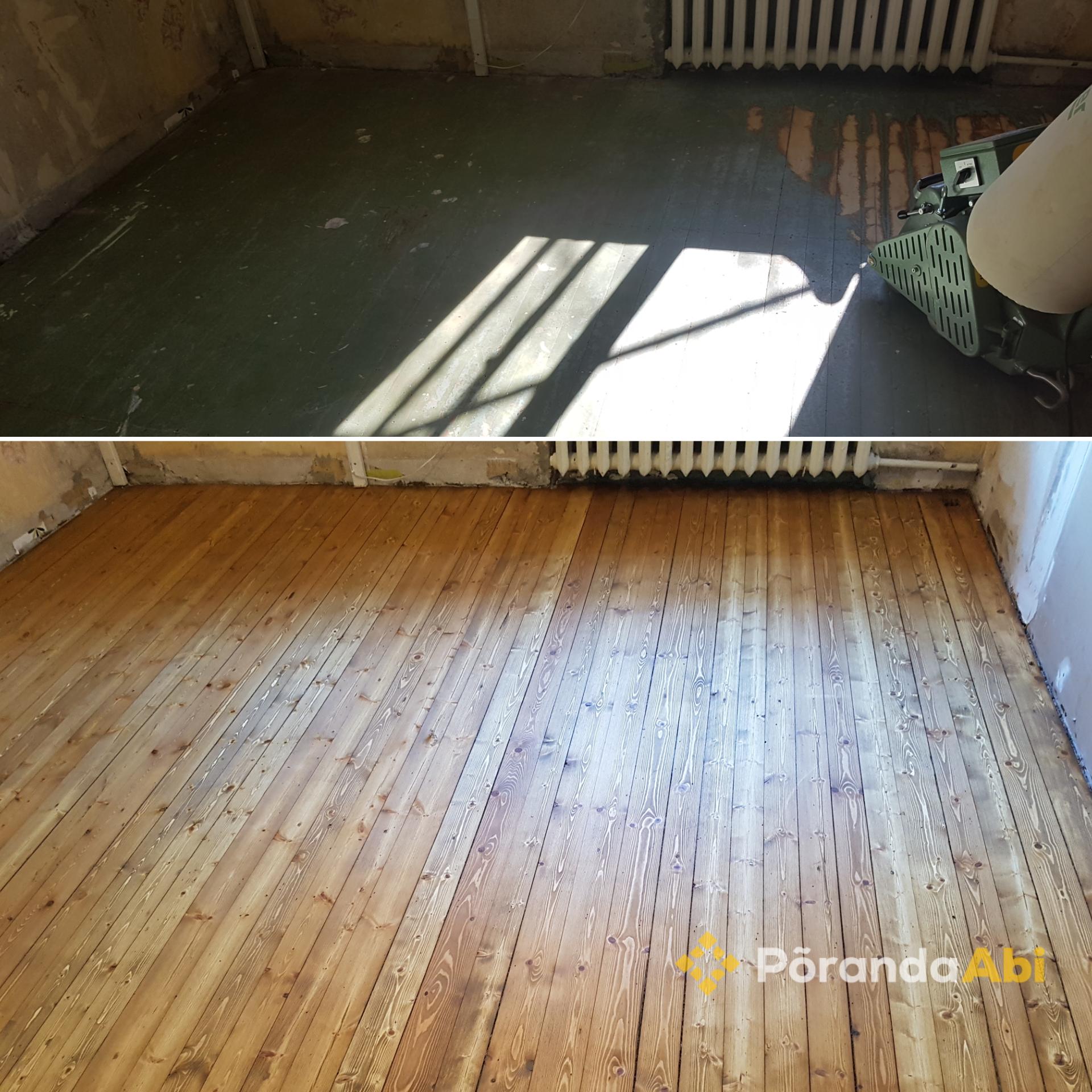Puitpõranda renoveerimine ja hooldus
