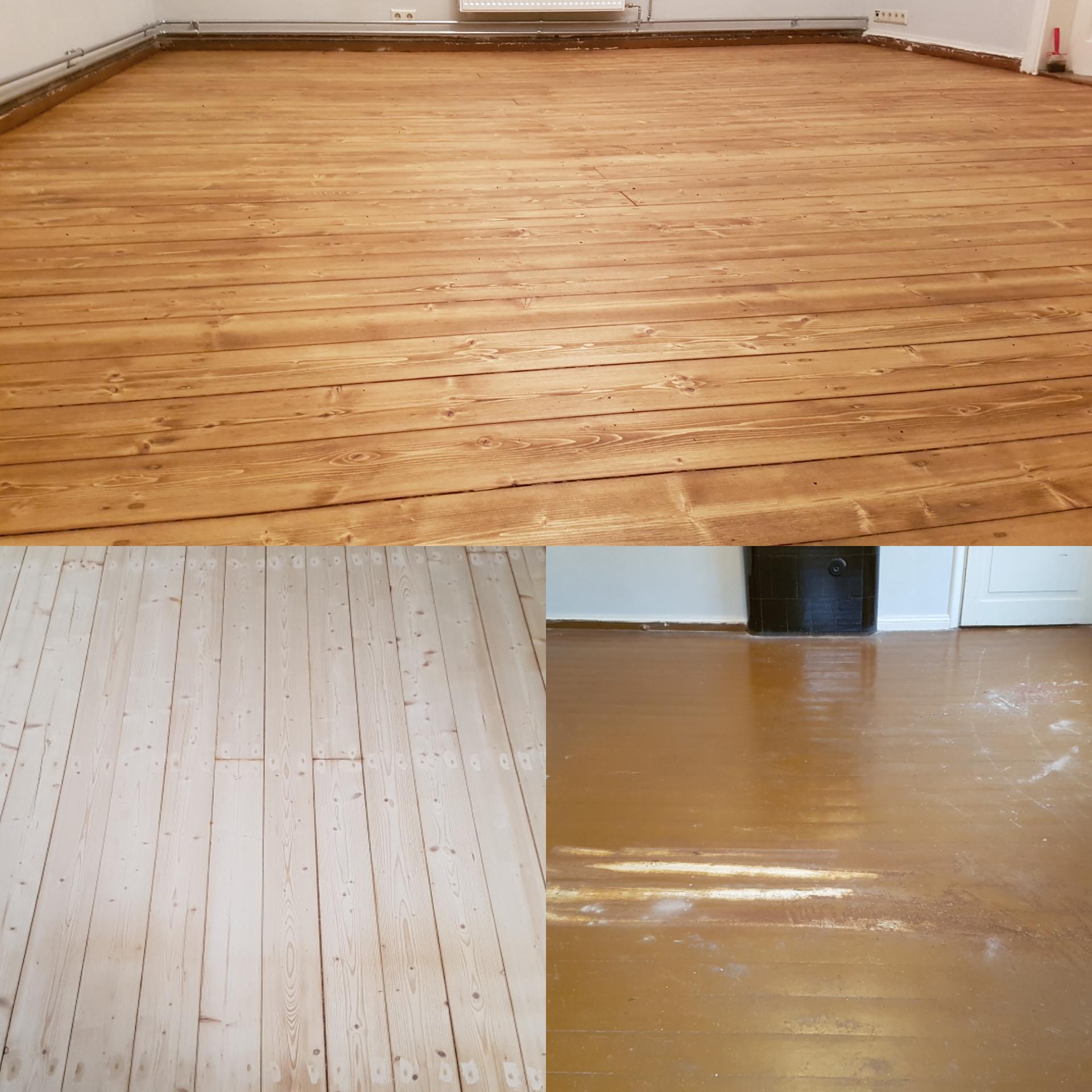 Puitpõranda lihvimine ja lakkimine