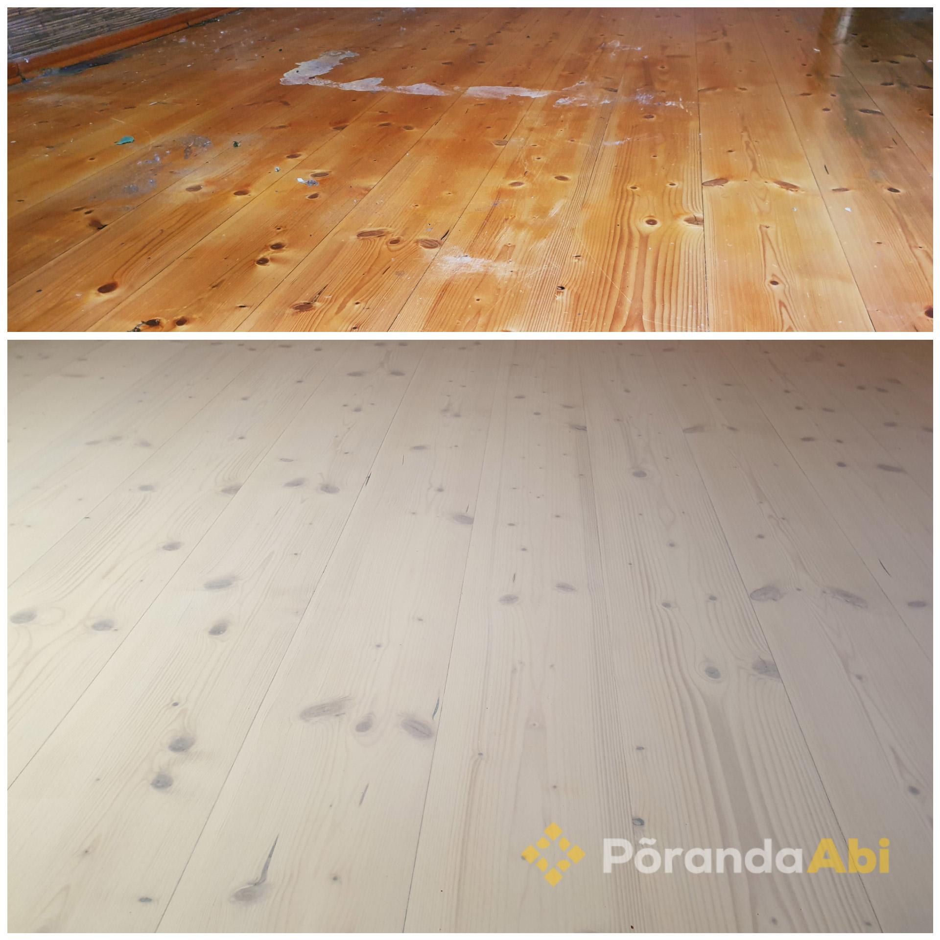 IKEA stiilis puitpõrand