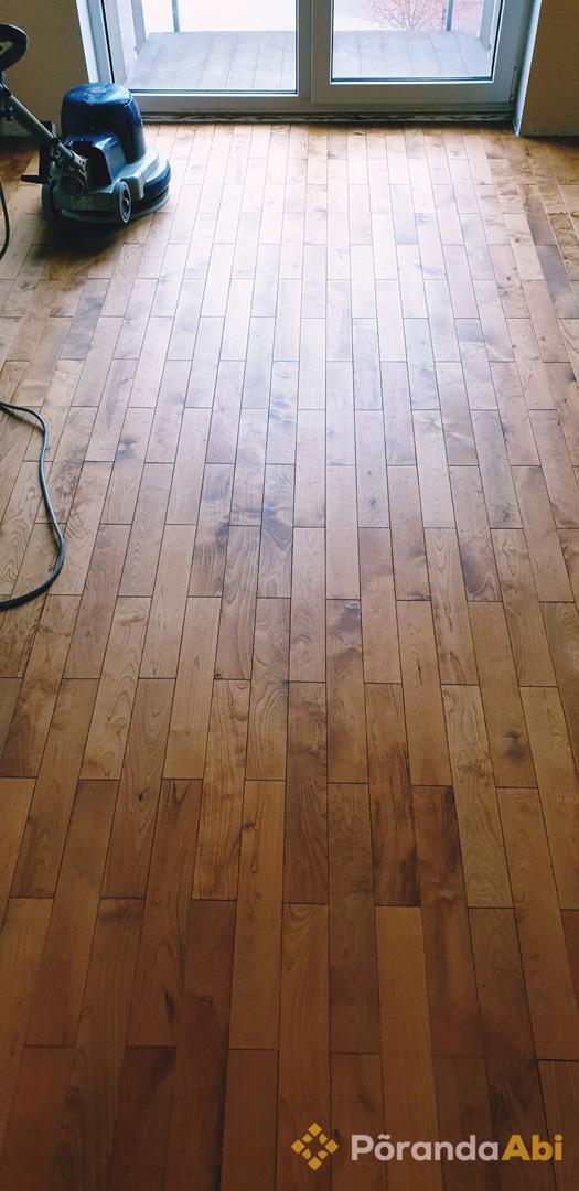 Puitpõranda lihvimine