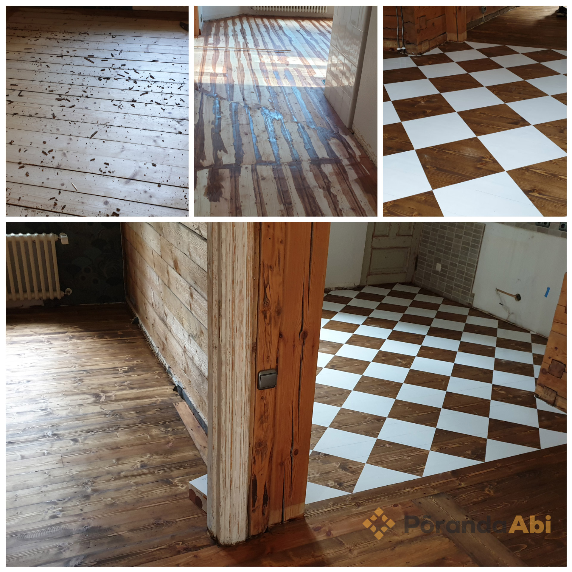 Vana põranda taastamine ja renoveerimine
